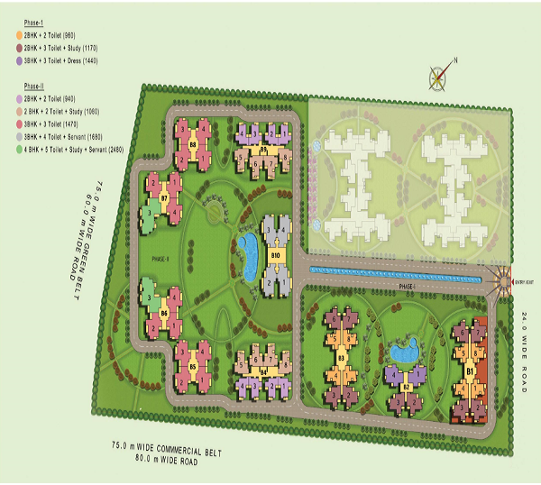mahila samridhi housing site plan