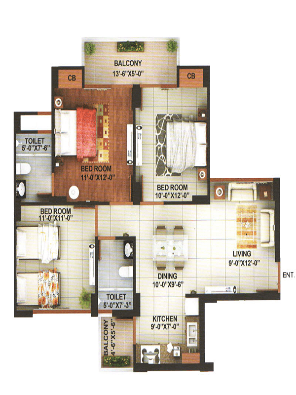 rajresidency floor plan , rajresidency noida extension