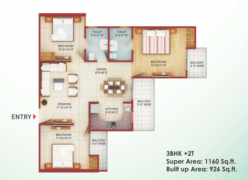 saviour greenarch floorplan-1160