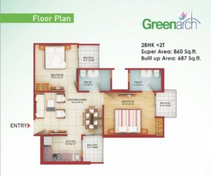 saviour greenarch floorplan-860