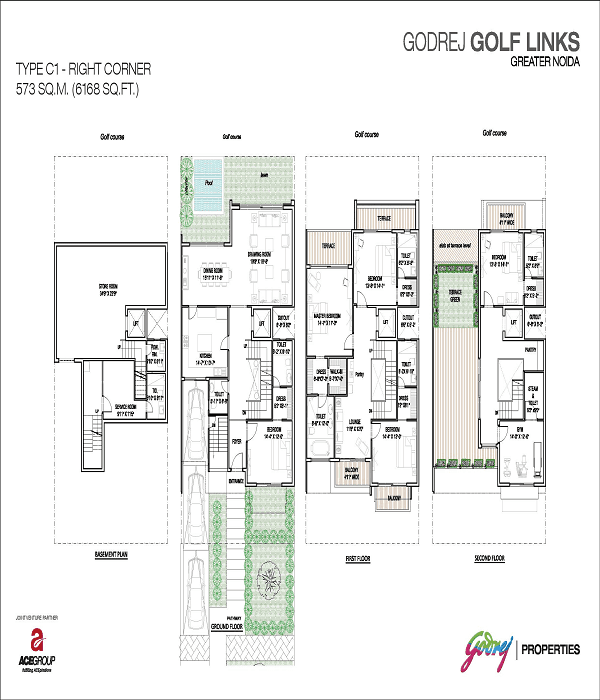 godrej-golf-links-right-corner-floor-plan-6168-sq-ft